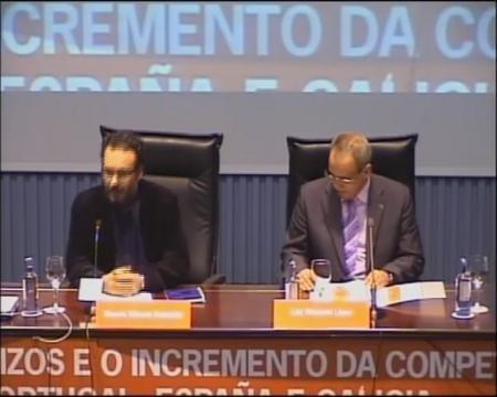 Mesa redonda sobre o sector da construcción - Foros sobre a directiva servizos e o incremento da competitividade: Unha oportunidade para Portugal, España é  Galicia